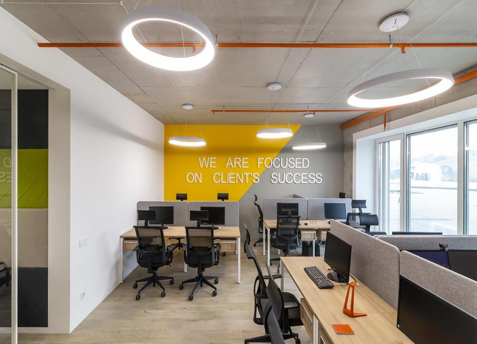 Дизайн открытого офиса