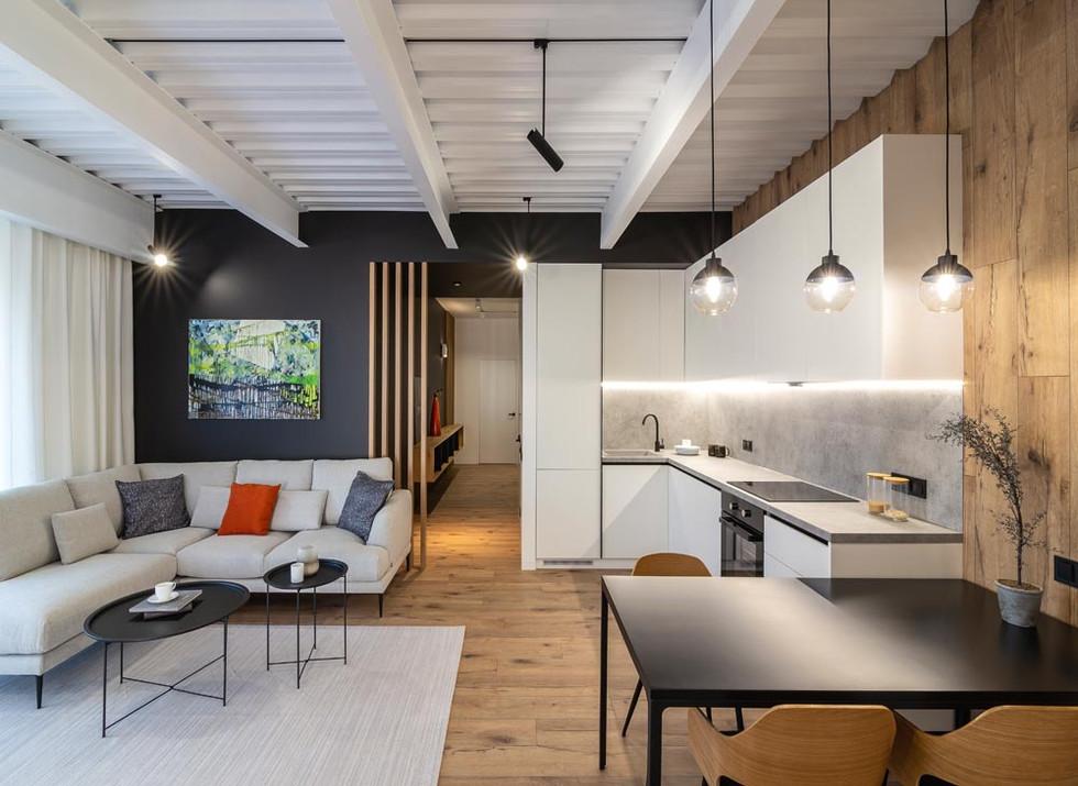 дизайн интерьеров квартиры
