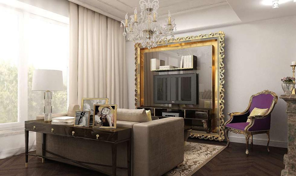Квартира 3д дизайн