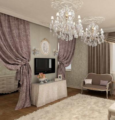 Шторы в дизайне спальни