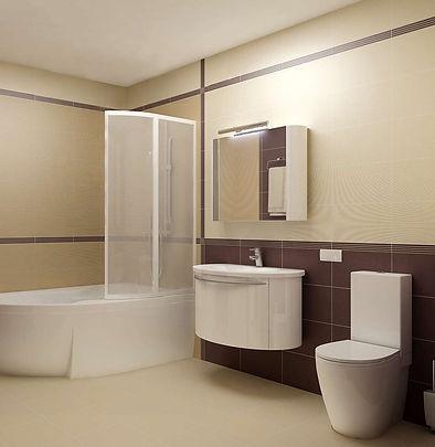 Дизайн санузла в гостинице