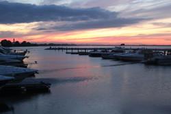 Sunset at South Bay Marina