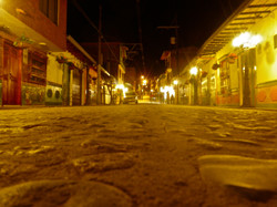 Guatapé by night