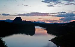 Sunset over Guatapé