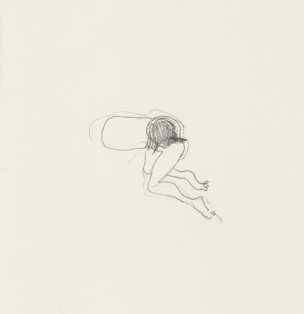 Misheck Masamvu, 2019, Sans titre, dessin sur papier, 42 x 30 cm - Détail