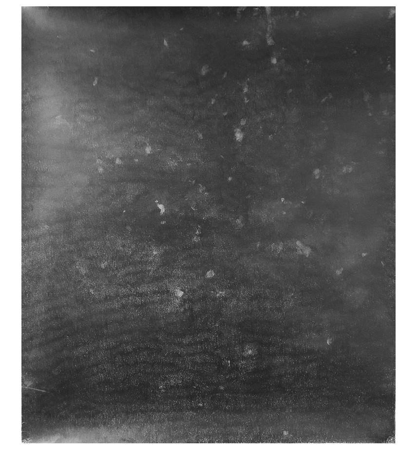 François Réau, 2019, Obscur II, mine de plomb et graphite sur papier, 114 x 128 cm
