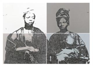 Kelani Abass, 2020, Stamping History (Ìrántí 3)