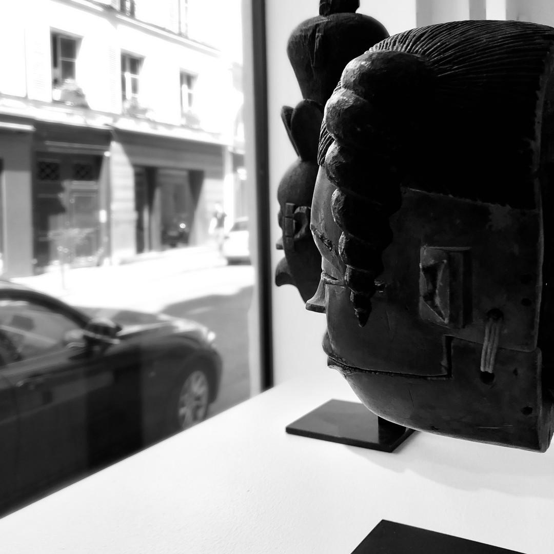 Vue de l'exposition OGONI - Charles-Wesley Hourdé, 2020
