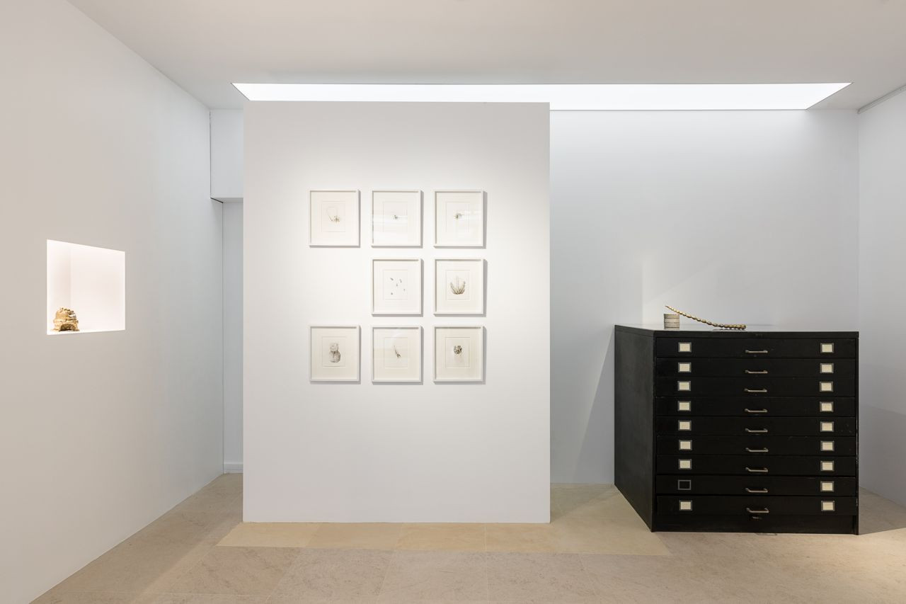 Vue d'exposition, Janvier 2020, galerie 31 PROJECT,Paris