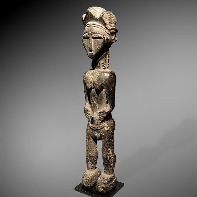 Statue Baoulé, Côte d'Ivoire - Charles-Wesley Hourdé