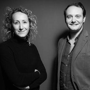 Charles-Wesley Hourdé et Clemence Houdart