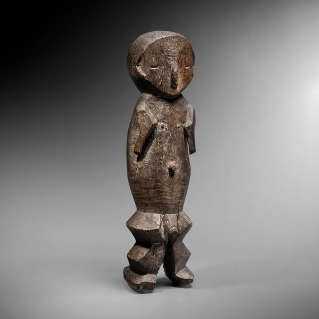 Statue Ngbaka, RDC - Charles-Wesley Hourdé
