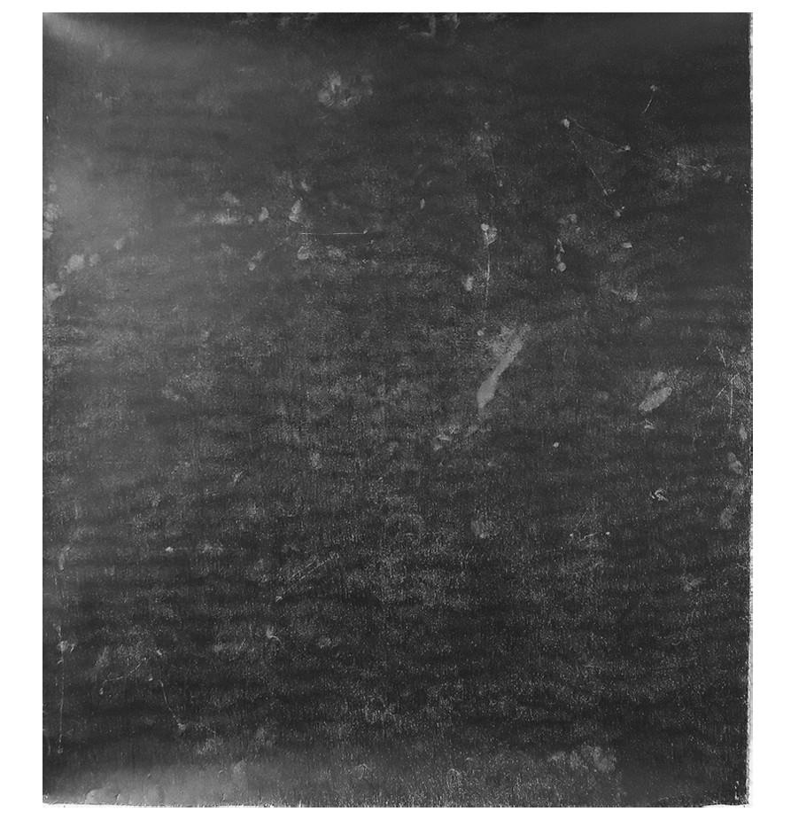 François Réau, 2019, Obscur I, mine de plomb et graphite sur papier, 114 x 128 cm