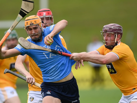Dubs give Antrim a reality  check
