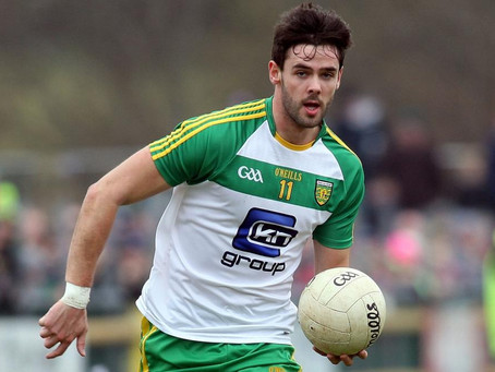 Odhran MacNiallais Returns To The Donegal Senior Football Panel After A Two Year Absence