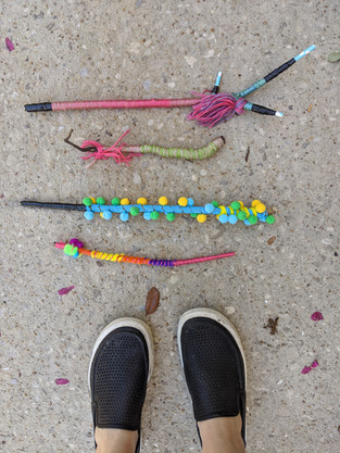 Magic Wand Neighborhood Installation