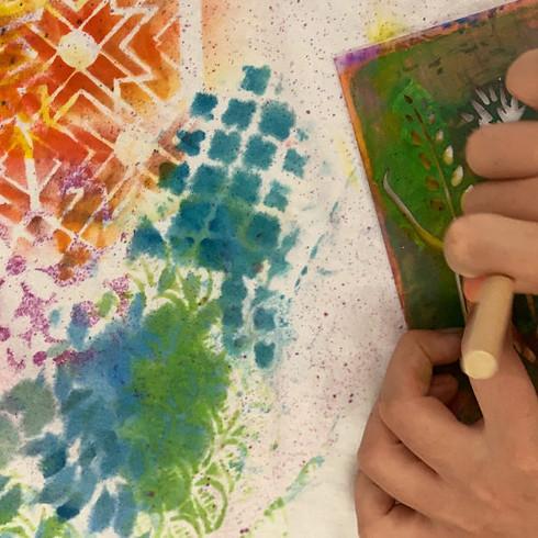 June 14-18 || 10am-12pm || Beginning Art Class for ages 8-12 ||