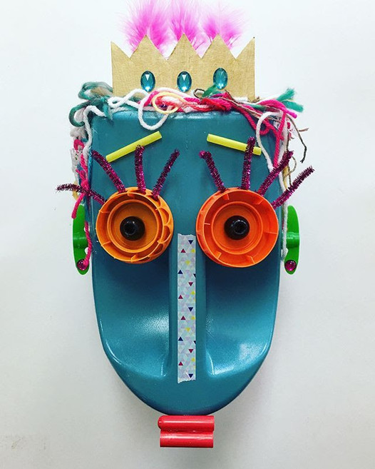 Recycle Bottle Mask