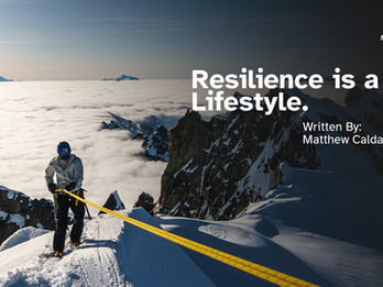 Resilience is a Lifestyle, Not Just a Mental Skill