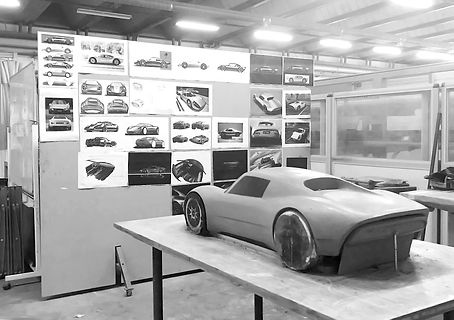 CLAY RENNER CAR PROTOTYPE
