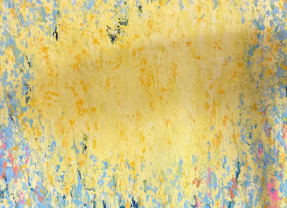 """Summer Sun"" Abstract Art"