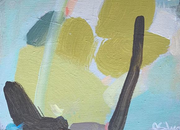 """Pink Landscape"" 15x12"
