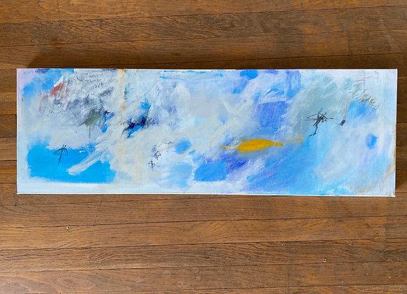 """""""Love at Sea"""" Abstract Art"""