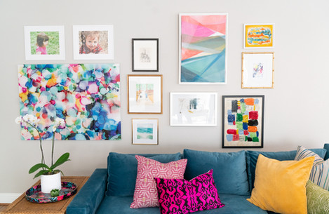 Tate Studio Living Gallery Wall