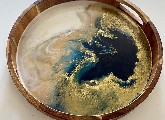 Wood Art Tray