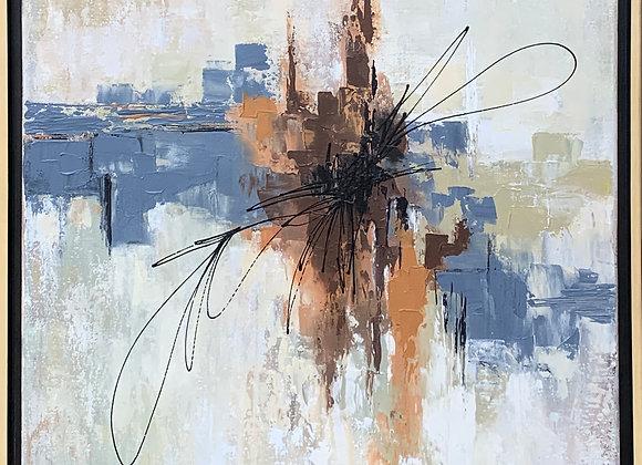 """""""City Life"""" Framed"""