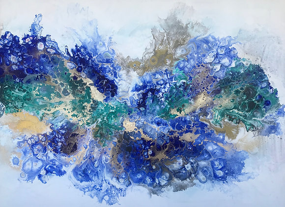 """""""Galapagos"""" Abstract Art"""