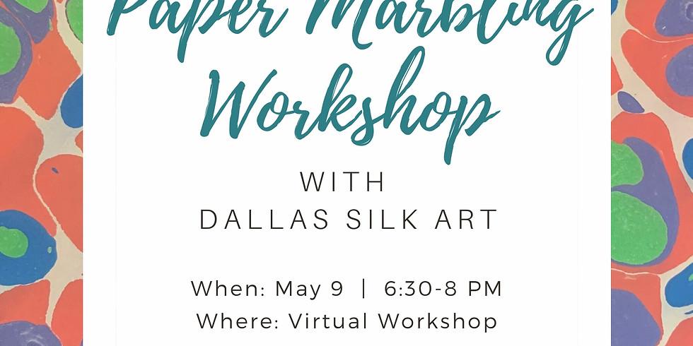 Paper Marbling Workshop with Dallas Silk Art