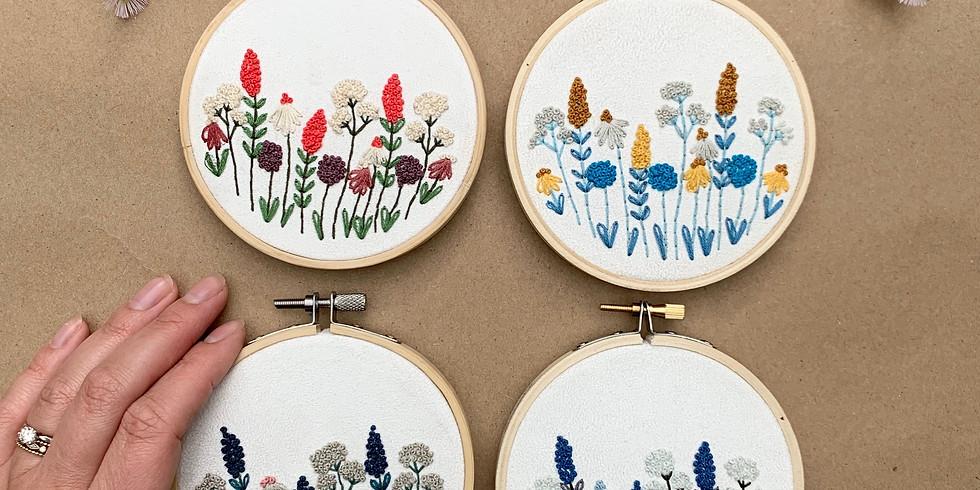 Wildflower Embroidery Workshop