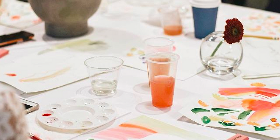 Spring Florals Watercolor Workshop with Brie Milam