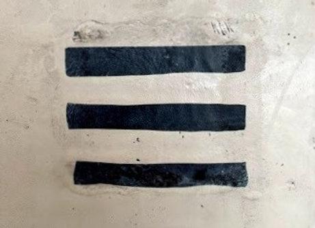 """Lines"" Encaustic Art"