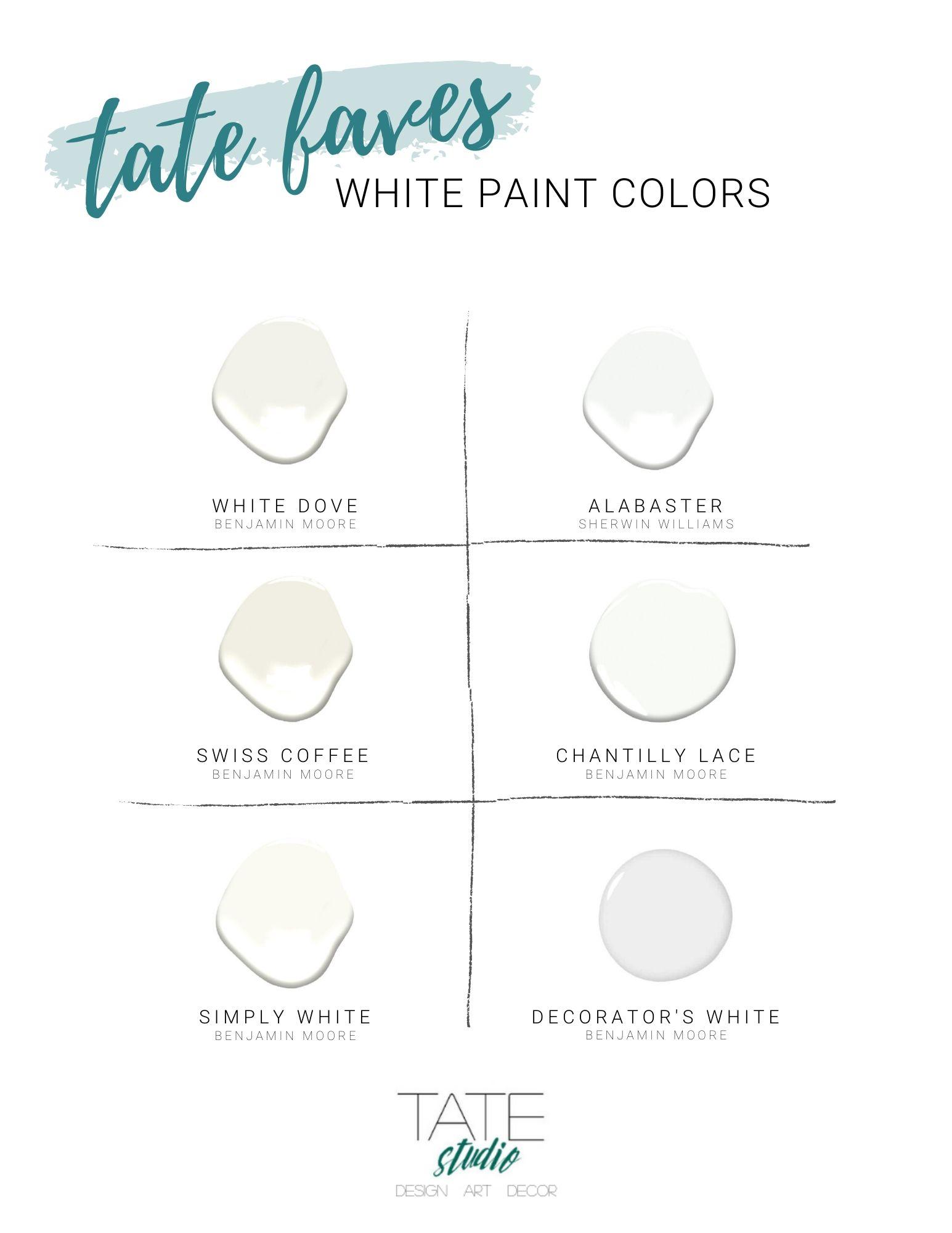 White paint colors