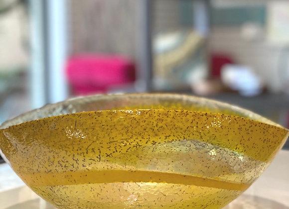 Canary Murano Glass Bowl