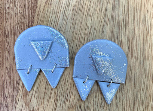 Triangle Duo with Glitter