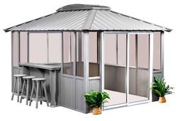 10x14-Gray-Enclosed-w-bar
