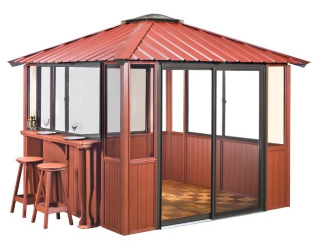 10x10-Red-Enclosed-w-bar