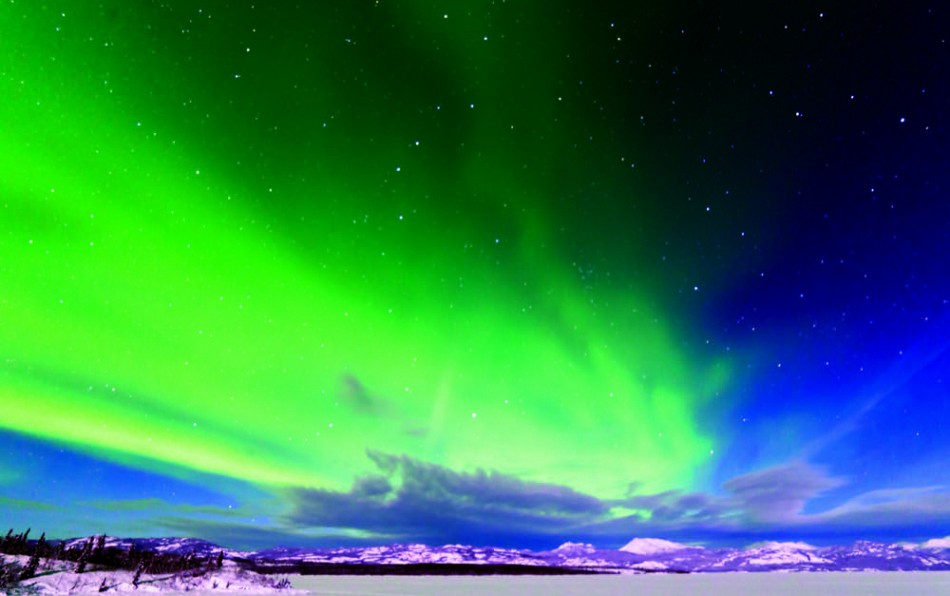 Northern Lights view