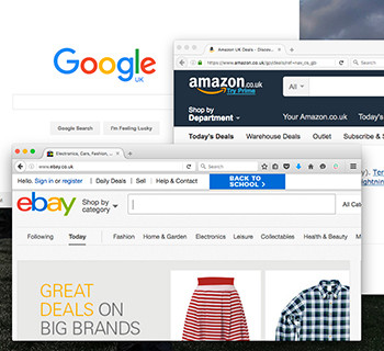 Supporting Amazon, eBay and Google Shopping