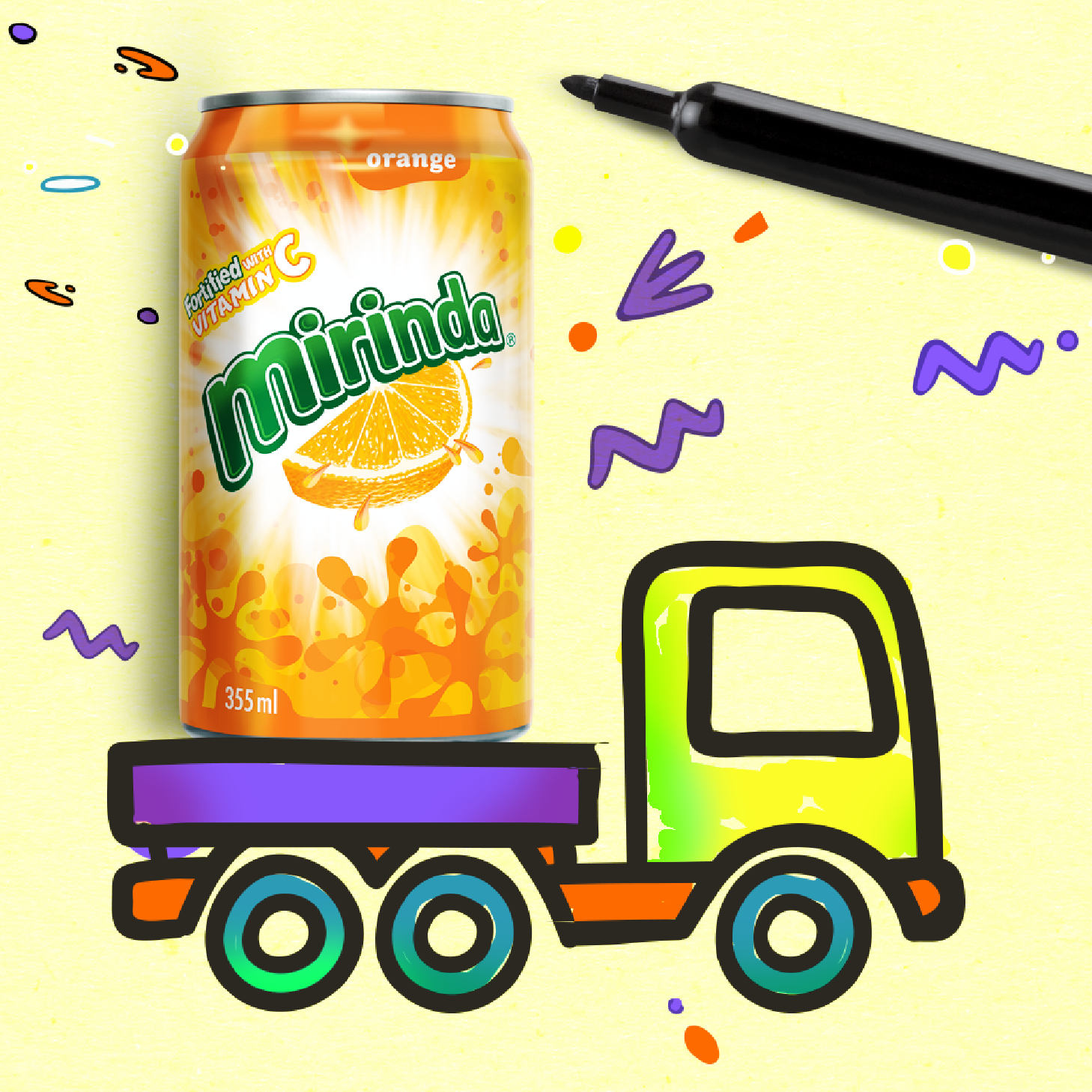 Mirinda - Take it everywhere