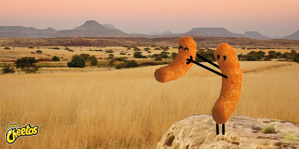 Cheetos Lion King