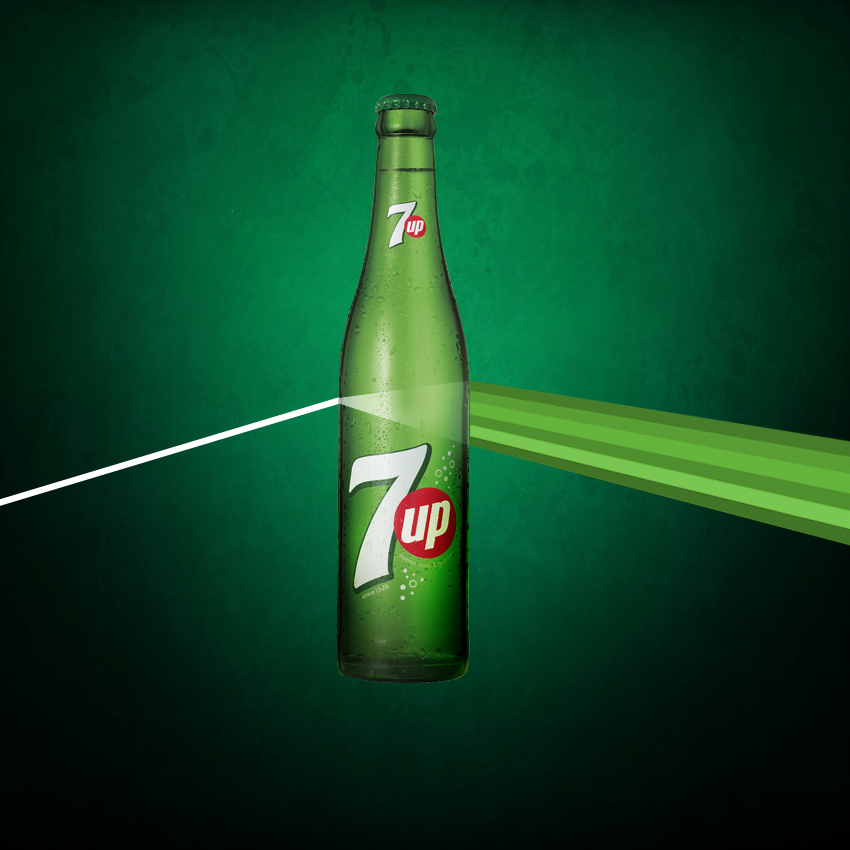 7UP Dark side of the moon