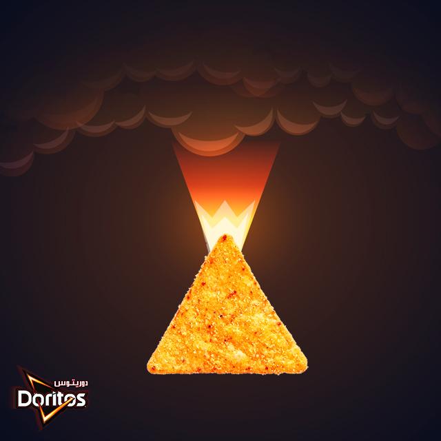 Doritos Volcano