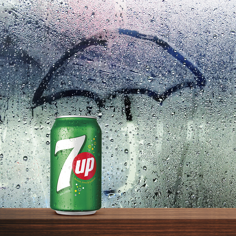 7UP Rainy day