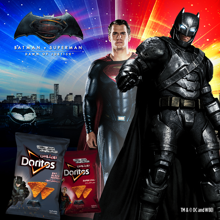 Doritos Batman vs Superman
