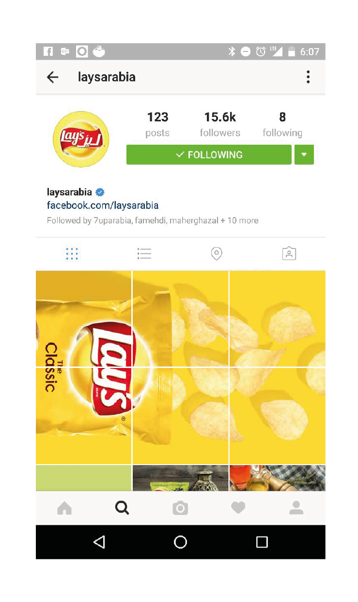 Lay's Instagram Strategy