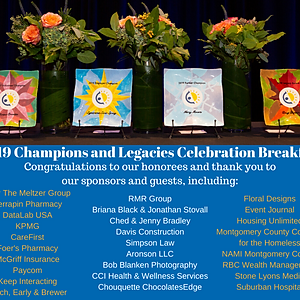 Champions and Legacies Celebration Breakfast 2019